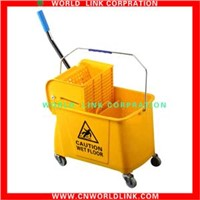 plastic single bucket mop wringer