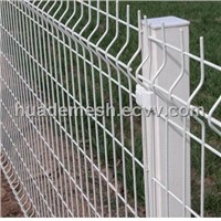 powder coated welded mesh fence panel