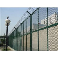 prison welded wire mesh fence