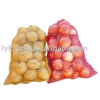 raschel bags, onion bag, potato bag, raschel mesh bag
