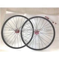 road bicycle light glossy & matte 3k UD 24H wheels 22mm