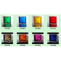sell varied color hollow glass brick/block