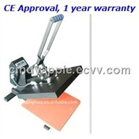 -shirt heat transfer machine with assistant spring CY-G7
