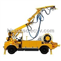 shotcrete robot arm