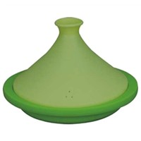 silicone steamer with collapsible lid