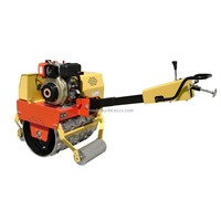 single drum vibratory trench roller
