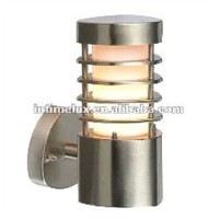 stainless steel grill E27 outdoor wall lights lamp