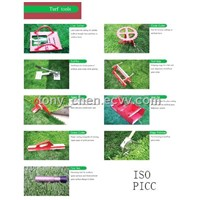 tools for athletic grass installation
