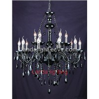 traditional European crystal chandelier