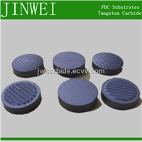 tungsten carbide substrate for pdc cutter