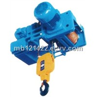 wire rope electric low headroom hoist