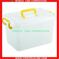 with lid plastic storage box