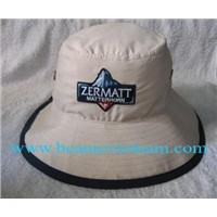 ZERMATT EMBROIDERY BUCKET HAT