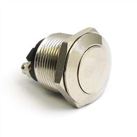 Round Stainless steel ,Metal Anti-vandal push button switches Manufacture China