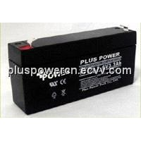 6V3.3Ah rechargeable batteries