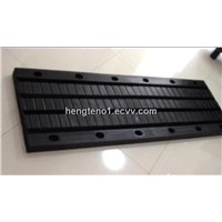 Board type rubber expansion joint