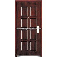 Fire Proof Steel Wood Door (a-8panel)