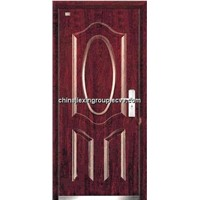 Fire Rated Steel Wooden Armored Security Door (A265)