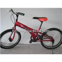HH-BMX02 bmx downhill bike with red saddle