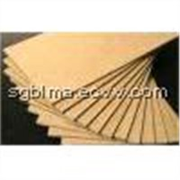 High Density Plain MDF Board for Furniture or Decorate