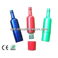OEM Silicon Bottle USB Flash Drive Disk