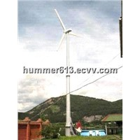 Hydraulic tower system wind turbine