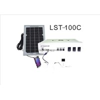 LED solar home lighting system