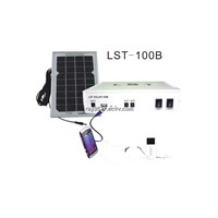 LED solar indoor lighting