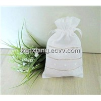 Linen Jewlery packing bag