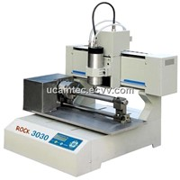 Mini Rotary CNC Router / CNC Milling Machine Model ROCK-3030 for PCB Engraving