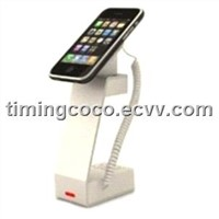 Mobile security display holder,with alarm and charging