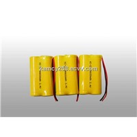 NI-CD AA 600mAh 2.4V Battery rechargeable