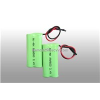 NI-MH AAA 600mAh 2.4V Battery rechargeable