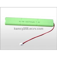 NI-MH AAA 700mAh 7.2V Battery rechargeable