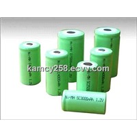 Ni-MH C 4000mAh 1.2V Battery