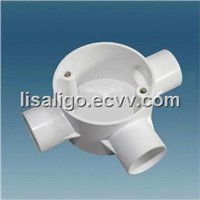 PVC Conduit T way junction box