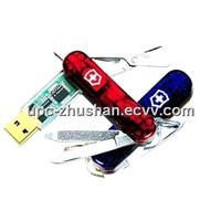 Promotion Gifts Metal Knife USB Flash Pen Drive