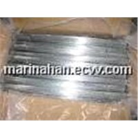 Q195 Straightened Galvanized Cut Iron Wire for Binding of Building Material