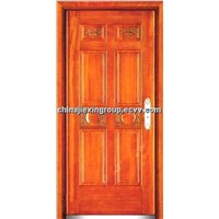 Steel Wood Armored Security Door
