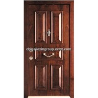 Steel Wood Armored Security Door (TA313)