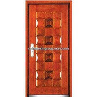 Steel Wood Fire Rated Armored Security Door