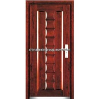 Steel-Wood Security Armored Door (A186)