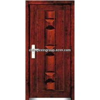 Steel-Wooden Armored Security Door