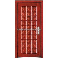 Steel Wooden Armored Security Door (A184)