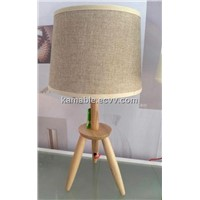 Wooden Table Lamp (LBMT-DL)