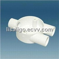 Y PVC junction box,PVC conduit accessories