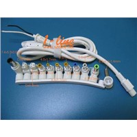11pcs a row dc connector