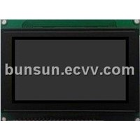 128x64 GraphicsLCD module black background white text