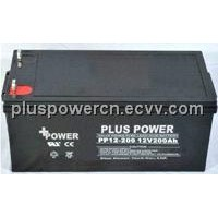 12V200AH soalr batteries