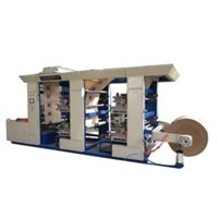 15.2kw 1160mm printing width combine with four-colors flexographic printing machine